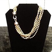 VIntage Givenchy Multi Strand Necklace