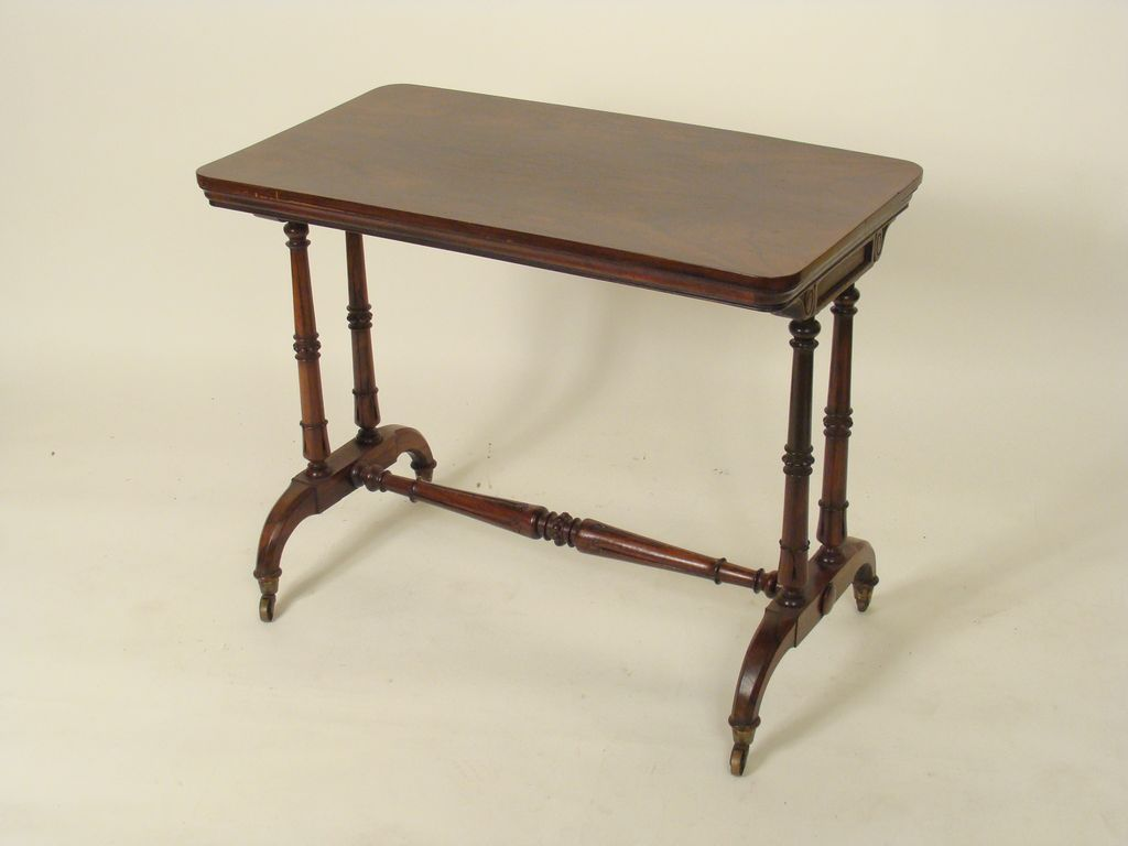 English regency library table