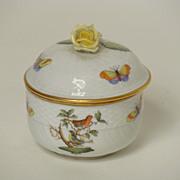 Herend porcelain covered sugar