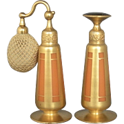 DeVilbiss Perfume Atomizer and Dropper Set 1926