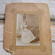 1890's Occupational Photograph of Nurse