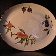 """Royal Worcester """"Evesham"""" Oval Platter"""