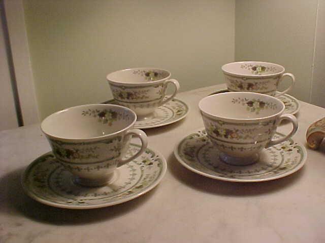 Royal Doulton Provencal cups & saucers