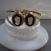 FAB Camphor Cameos Clamper Bracelet
