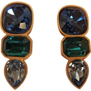 Runway Couture MARY FROST  Earrings Bold & Beautiful