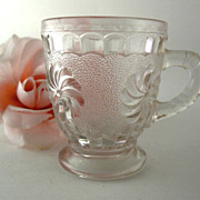 EAPG Mug Cup Roman Rosette Child Size ca. 1875