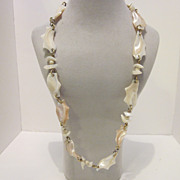 Vintage Seashell Necklace