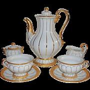 Meissen Coffee Set for 12  Tea Service