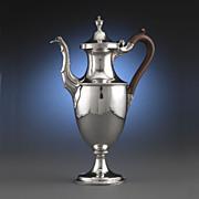 Hester Bateman Antique Silver Coffee Pot