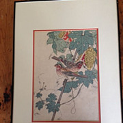 Imao Keinen 1892 Japanese Wood Block Print