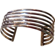 Cuff Bracelet Mexico 925 Sterling Silver