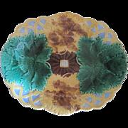 Antique Majolica Wedgwood Bowl