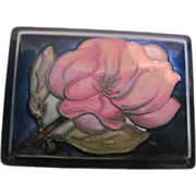 Moorcroft Pottery Covered Box