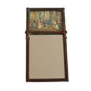 Vintage Brass Frame with Mirror