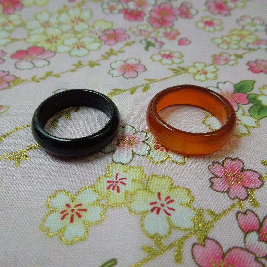 Pair of Jade Rings