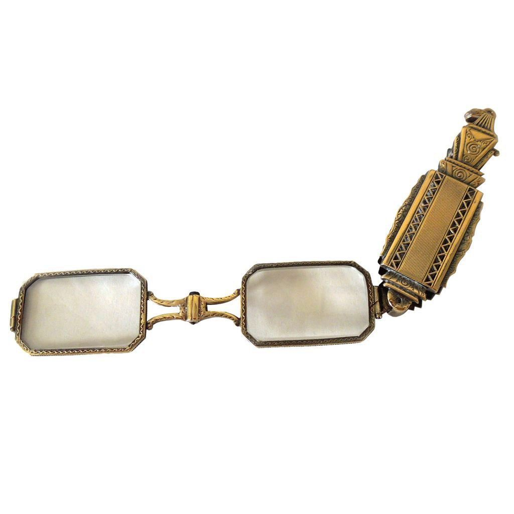 Antique 18 Karat Gold Lorgnette