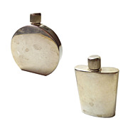 Italian Sterling Mini Perfume Bottles (set of 2)