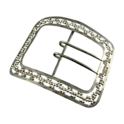 Large Cut Steel Sash Buckle