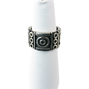 Los Ballesteros Mexican Modernist Ring