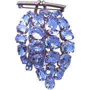 Gorgeous Retro Brooch with Color Change Stones