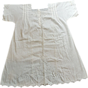 Victorian Pinafore DRESS Child  or DOLL 2t - 3t