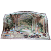 Tapestry  Wall Hanging  Garden  French Doors