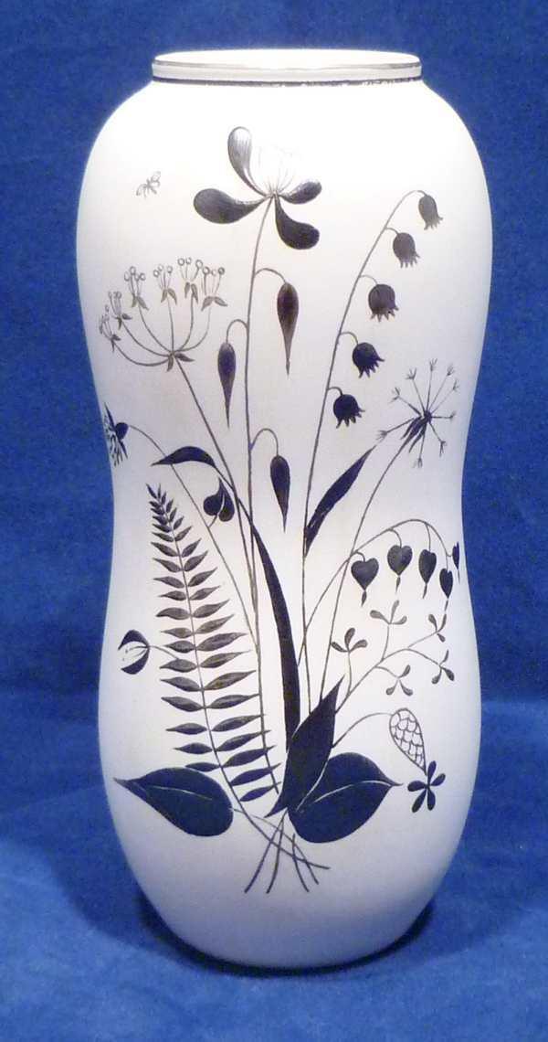 Gustavsberg Argenta  Grazia Vase by Stig Lindberg