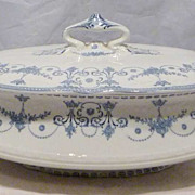 Royal Doulton Josephine Covered Vegetable Bowl c.1900