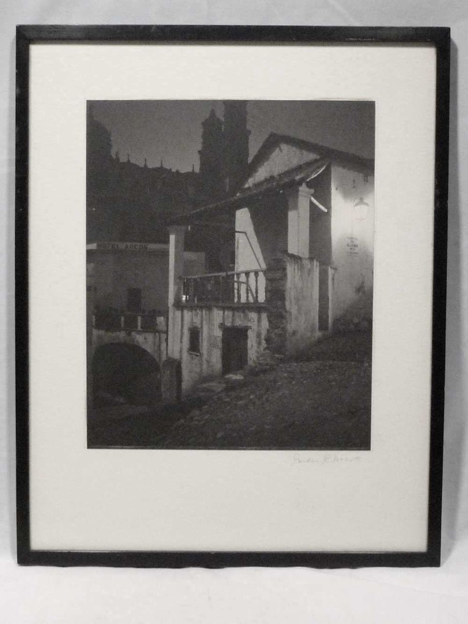 Gordon C. Abbott Signed Original Photo Hotel Arcos 1930s-40s