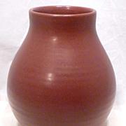Huge Zanesville Stoneware Co. Art Pottery Vase