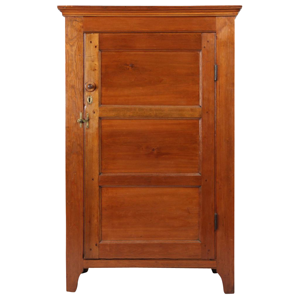 American Pennsylvania Antique Jelly Cupboard, probably Lehigh Valley or Lancaster County, c. 1820-40