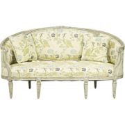 Exceptional French Louis XVI Sofa Canape Settee, Antique c. 19th Century