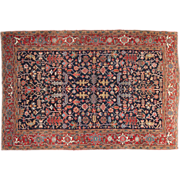 Fine Authentic Antique Heriz Persian Rug