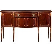 Potthast American Federal Inlaid Sideboard, 20th Century, Very Fine