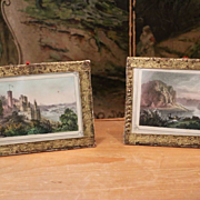 Two Early Dollhouse Frames