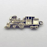 "Vintage 3D 14K Yellow Gold ""Train"" Charm"