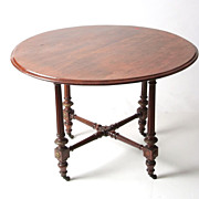 English table for small dinning room. 1880;