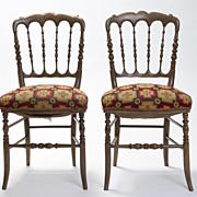 French Pub Chairs Circa 1850 Paris