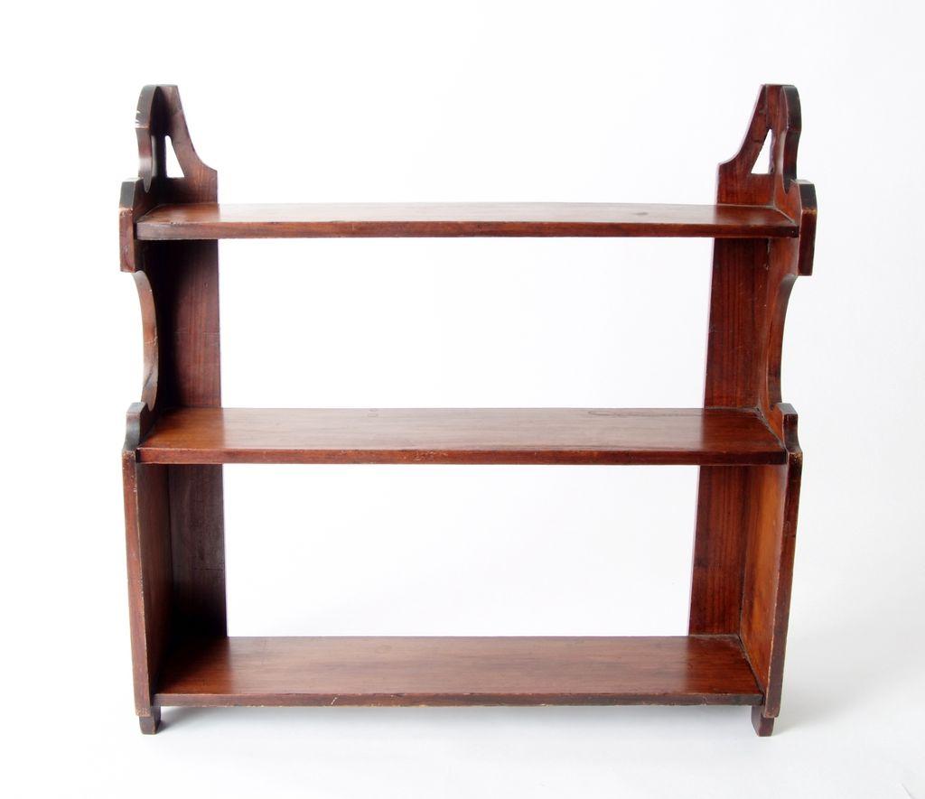 Mahogany Shelf, English c. 1860