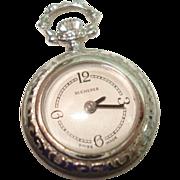 Vintage Ladies Pendant Pocket Watch by Bucherer
