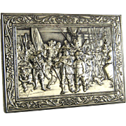 1950's Vintage Dutch biscuit Tin – Rembrandt