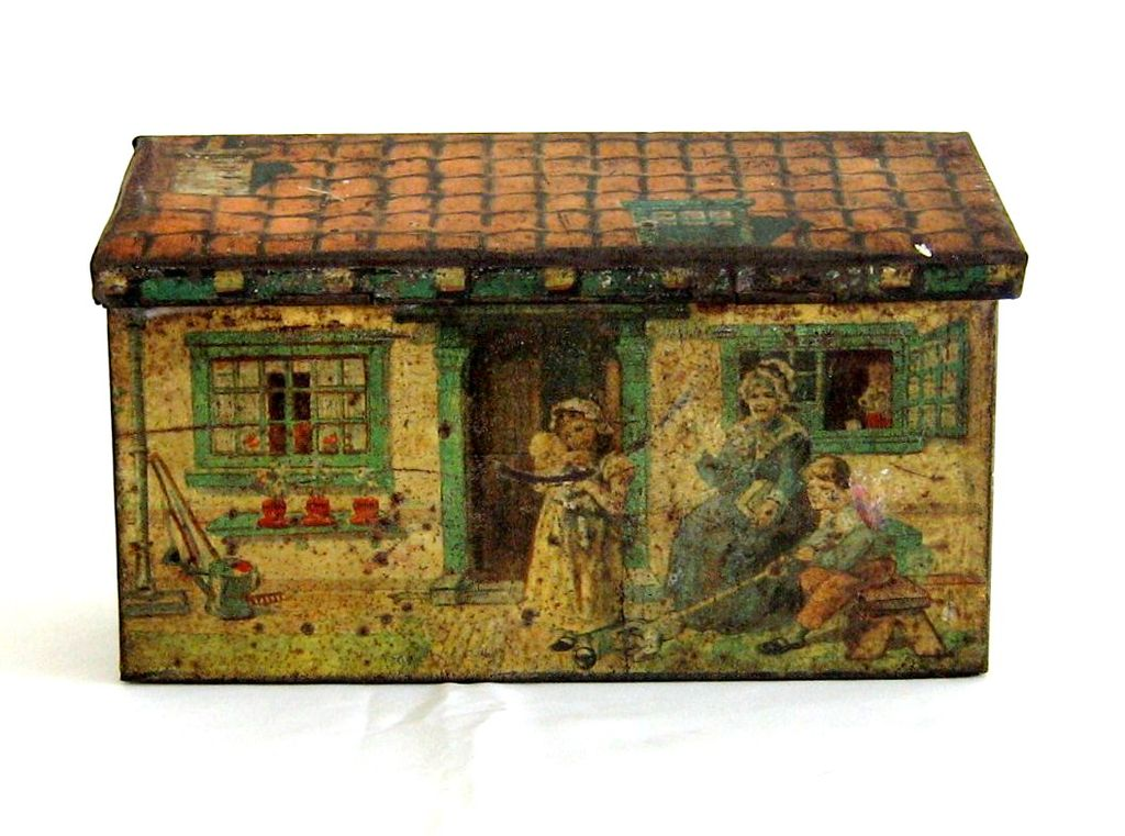 1930's Brothers Cattorno, Italian Cottage Tin