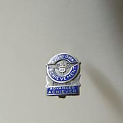 Junior Achievement Sterling Silver Pin