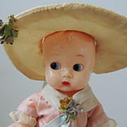 "Ideal 8"" Hard Plastic Doll"