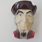 Royal Copley Head Vase Wall Pocket