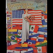 1946 Tournament Of Roses Pictorial Pasadena