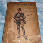'Done in the Open', by Owen Wister, Ill. by Frederick Remington - Collier - 1903