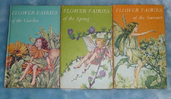 Set of 3 'Flower Fairies' Books, by Cicely Mary Barker - ca. 1950's-early 60's