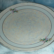 Hermann Ohme Luster Luncheon Plate - ca. 1920-30