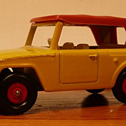 Matchbox #18e - Field Car, Red Hubs - SFW - ca. 1969-70